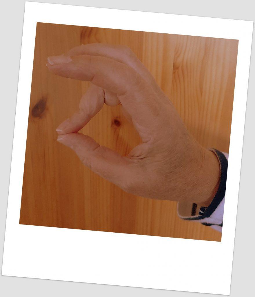 duim tegen ringvinger